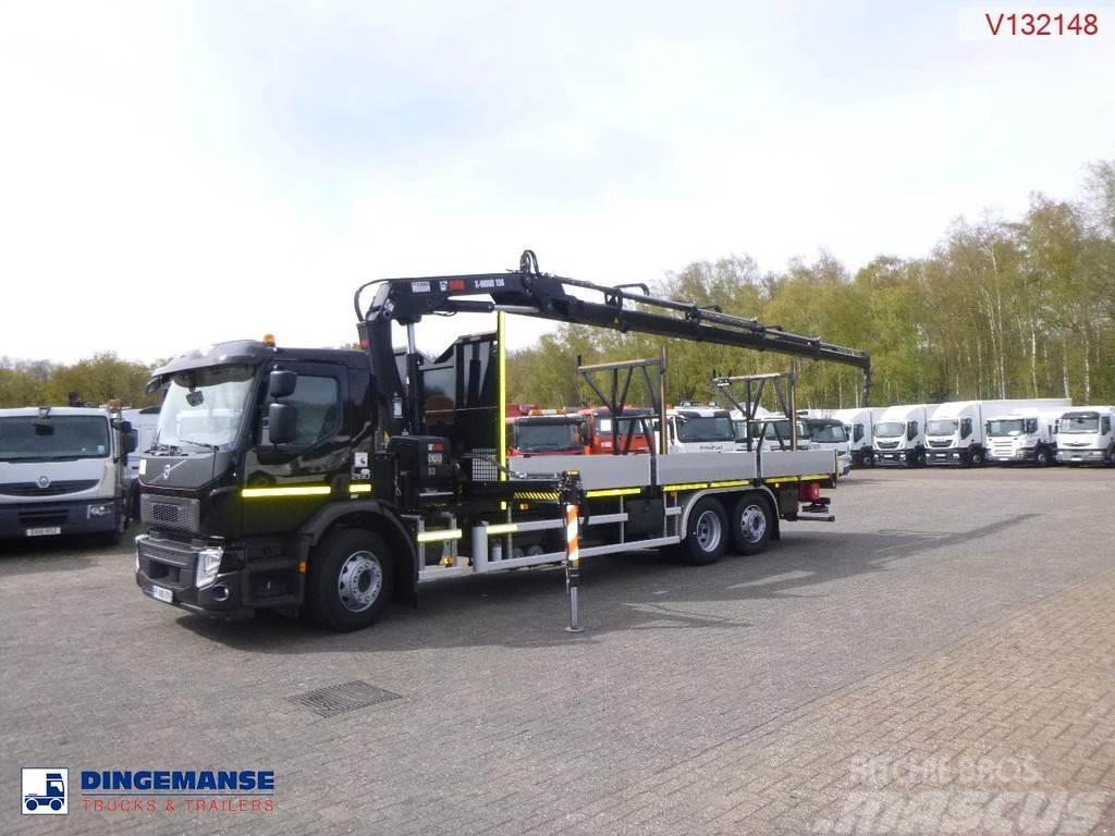 Volvo FE 280 6x2 Euro 6 + Hiab X-HiDuo 158 D-4