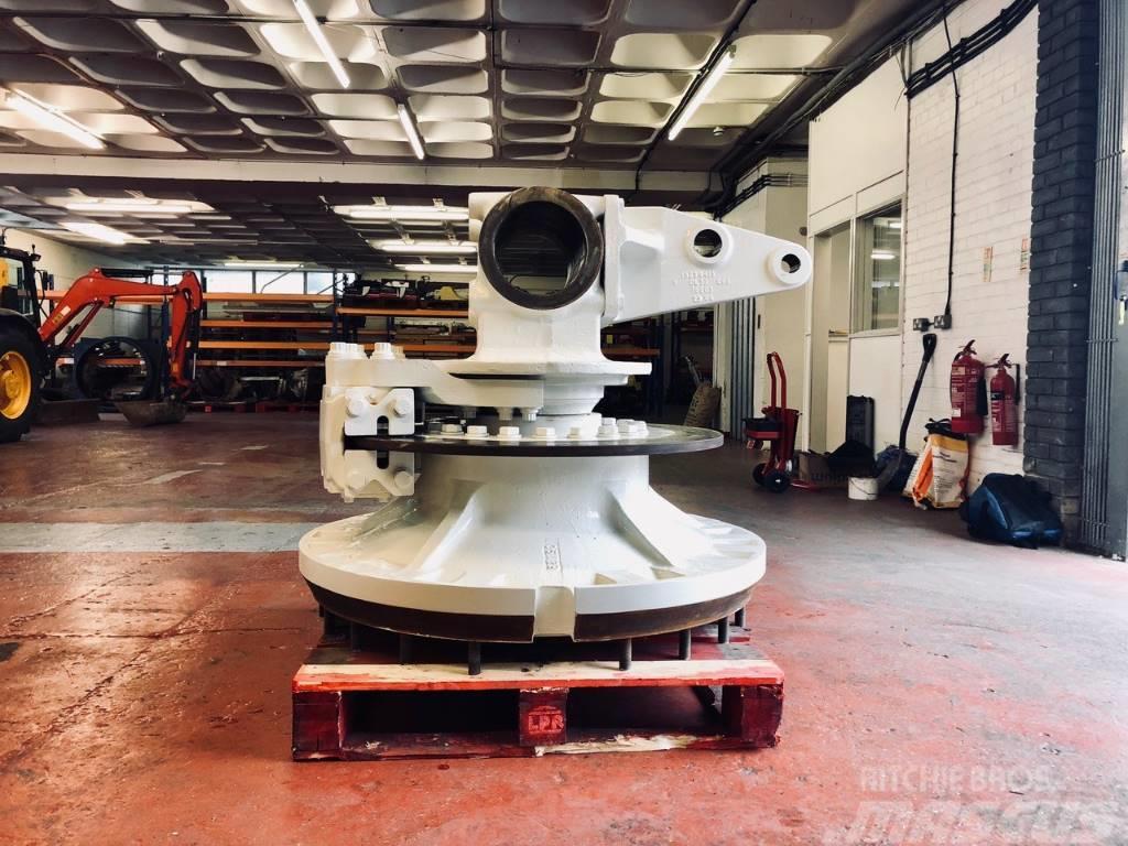 Terex TR 100- complete wheel hub