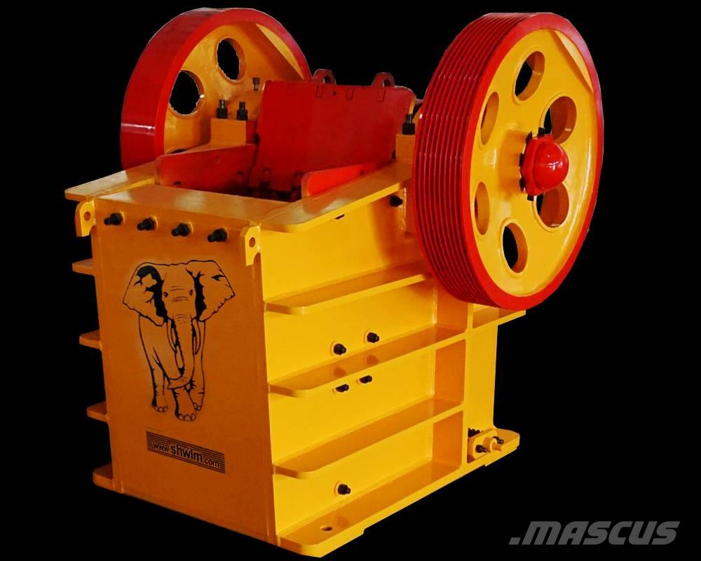 White Lai Hydraulic Jaw Crusher PEV-600x400