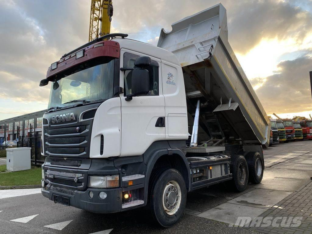 Scania R560 V8 6X4 EURO 5 + AD BLUE + RETARDER + FULL STE