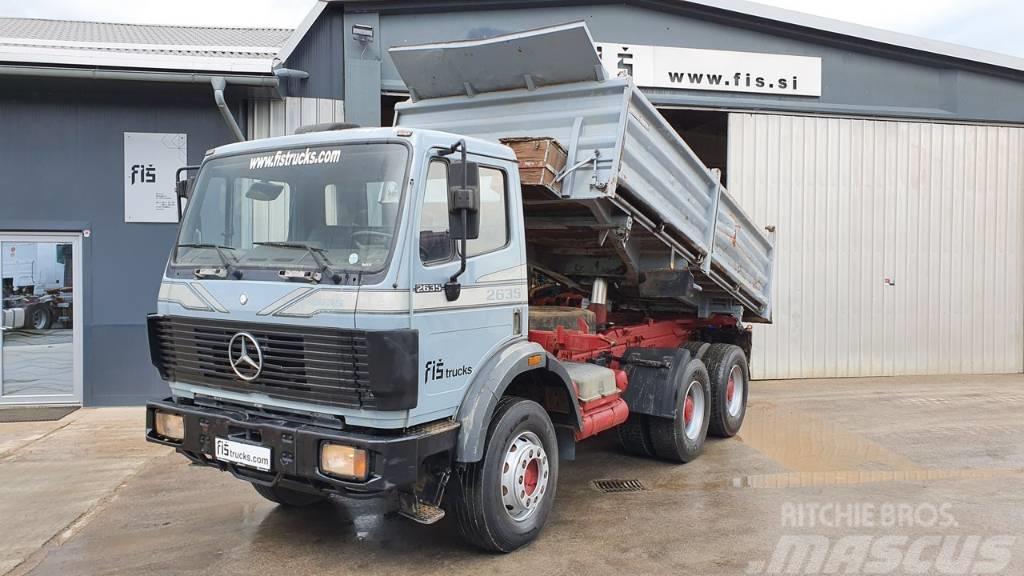 Mercedes-Benz SK 2635 K 6X4 meiller tipper - big axle