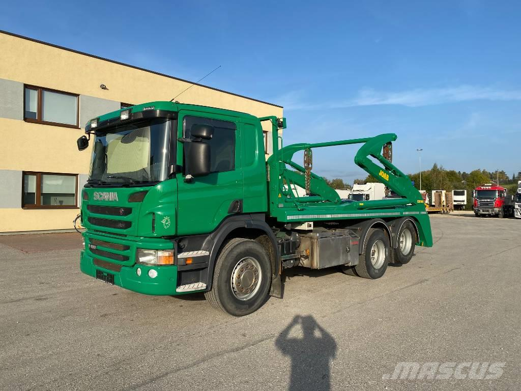 Scania P400 6x2 EURO5+JOAB LIFTDUMPER+VINCH