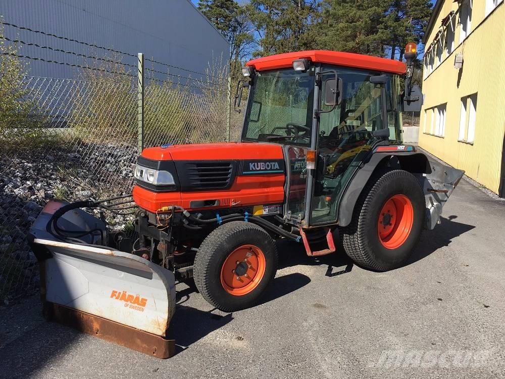 Bumpers For Kubota L4200 : Used kubota l d hst compact tractors year price