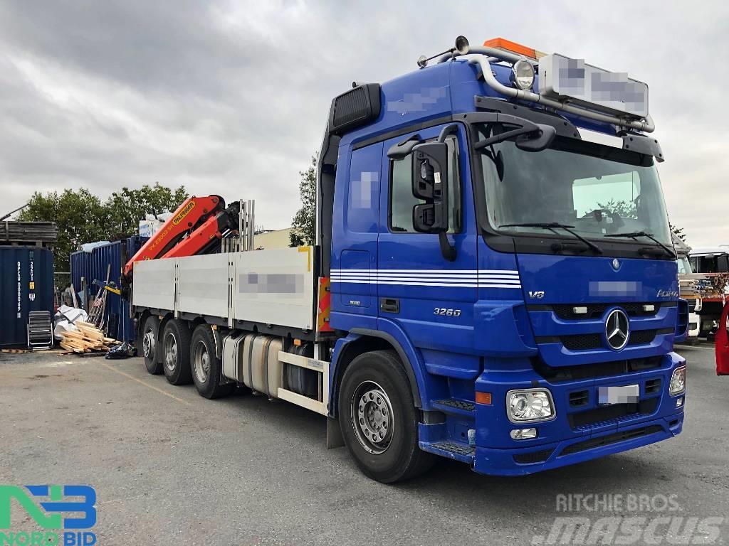 Mercedes-Benz Actros 3260/ 8x4/Palfinger PK23002/ Tridem/Euro5