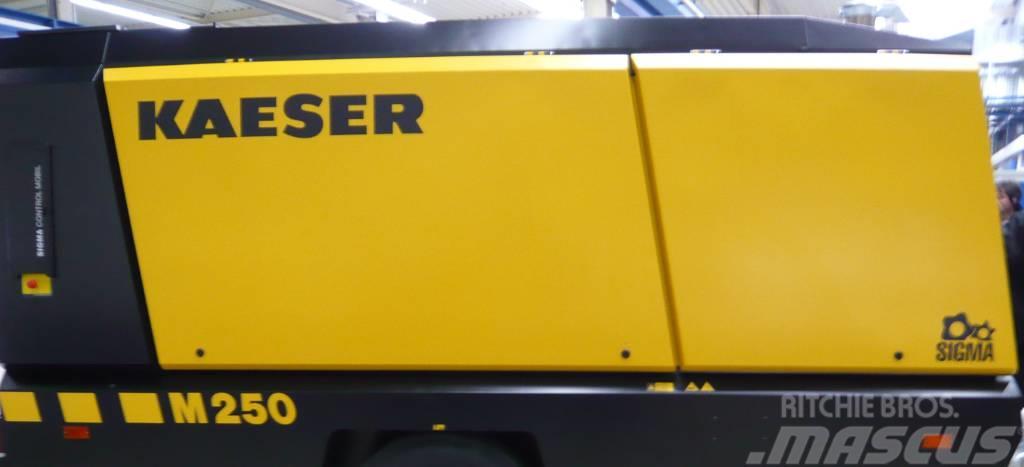 Kaeser M250 stationär auf Schlitten - sofort verfügbar