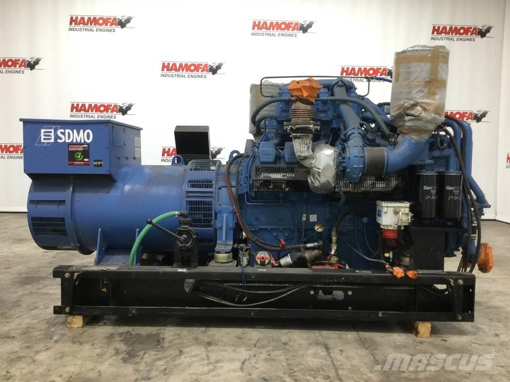 MTU SDMO 12V2000 Generator 660KVA