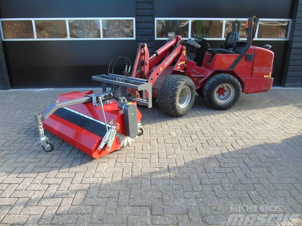 NDH Rumex 150 veegmachine schaffer minishovel