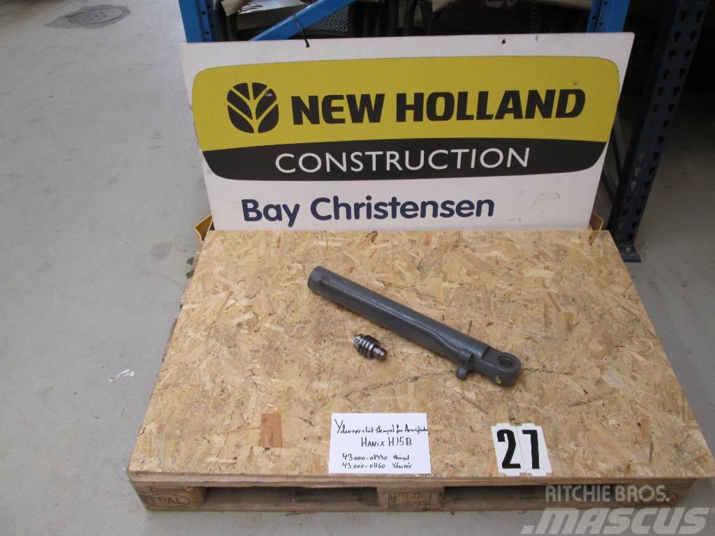 Hanix H15B Ydrerør for armcylinder