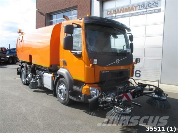 Volvo FL 250 Euro 6 NEW! 3-rd and 4-th brushes