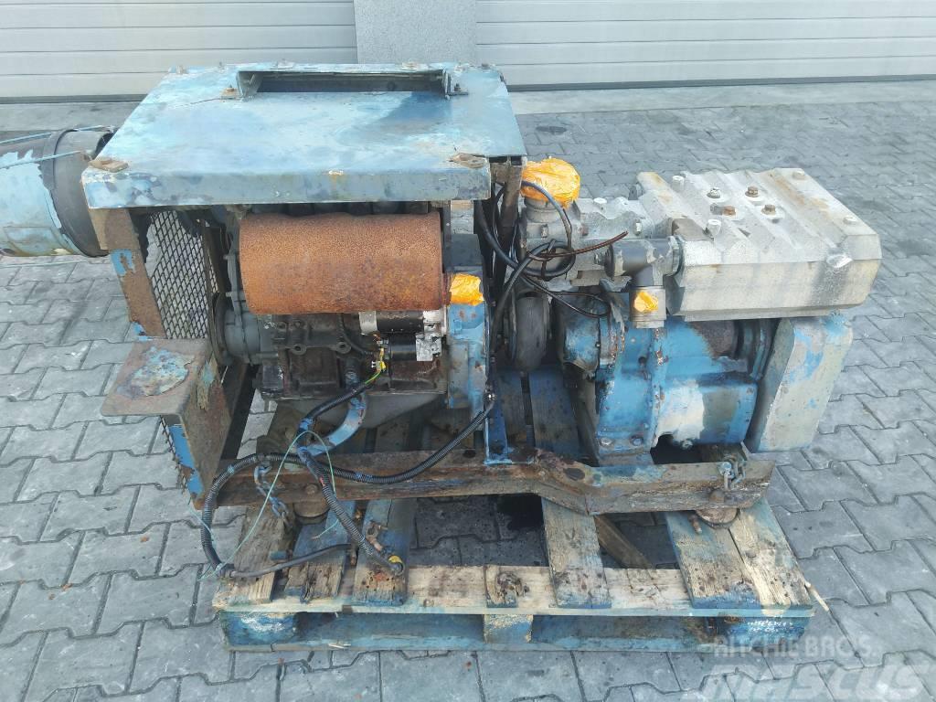 Deutz Silnik Engine Motor F3L1011 3 cylindrowy ze spręża