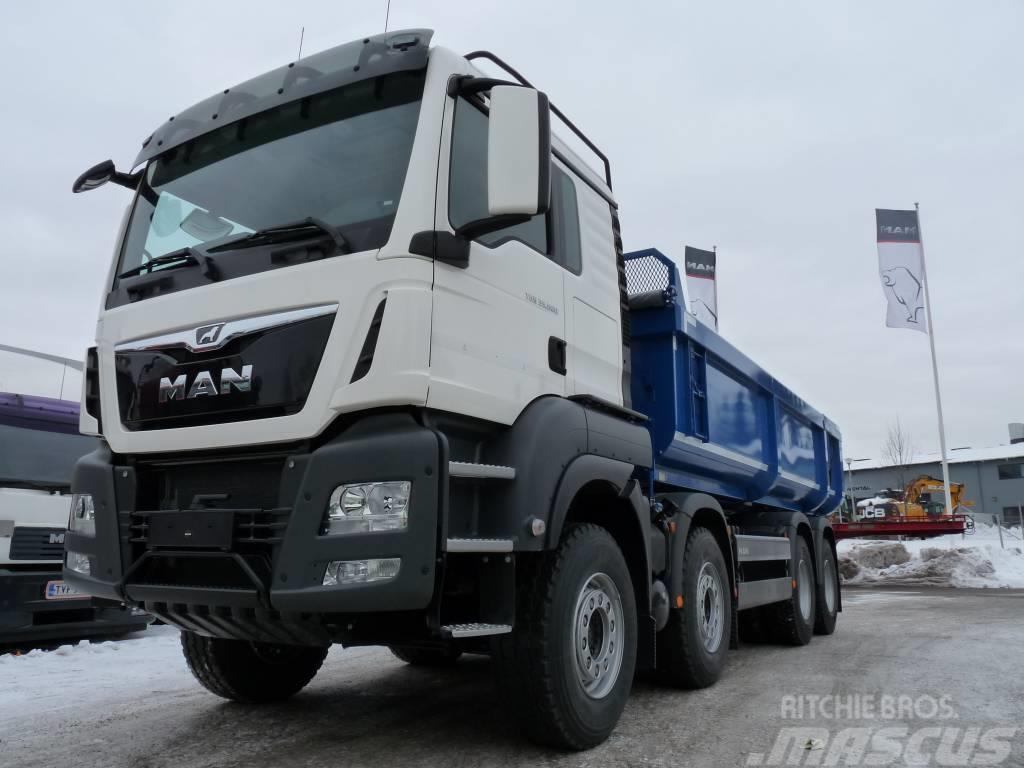 MAN TGS 35.500 8X4 BB maansiirtoauto