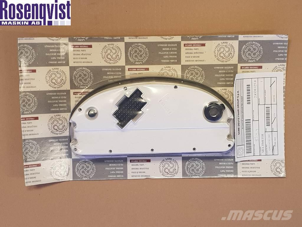 Hürlimann Lamborghini Instrument panel 2.8339.125.0