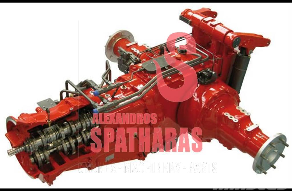 Carraro 133615drum brakes, complete