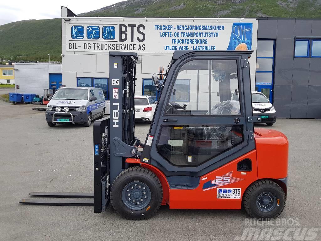 Heli CPCD25 (H3) - 2,5 tonns dieseltruck (på lager)