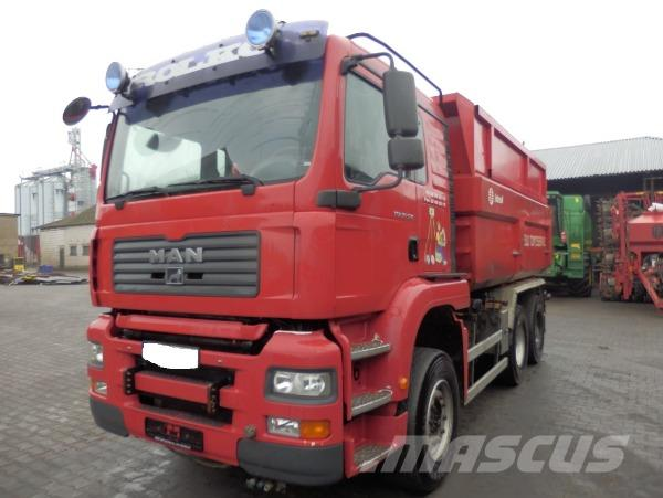 MAN TGA 26.530 6X4 MANUAL GEARBOX