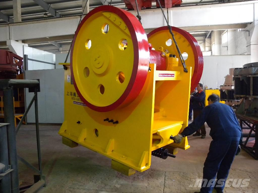 White Lai Jaw Crusher Machine PE-600x900