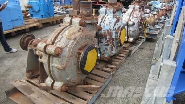 Warman 8/6 Slurry Pumps PE37