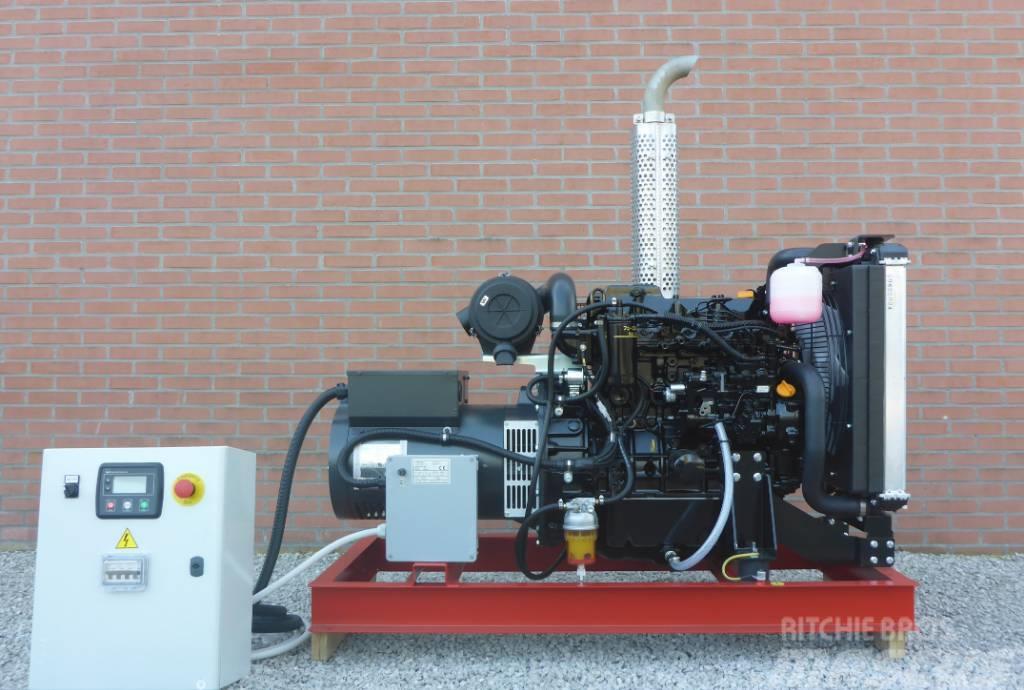 Yanmar 38 KVA Binnenvaart/offshore generator Stage V NRE