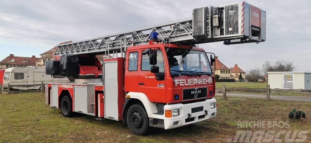 MAN 15.264 Drehleiter Feuerwehr
