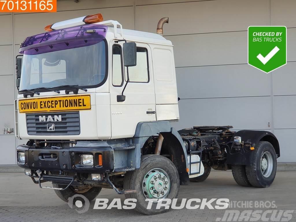 MAN F2000 19.414 4X4 4x4 Manual Big-Axle Steelsuspensi