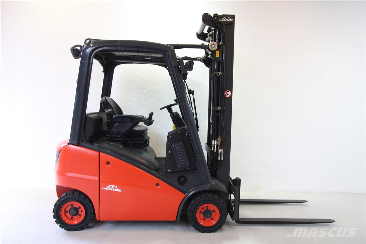 used linde h 16 d diesel forklifts year 2009 price 17 085 for sale mascus usa. Black Bedroom Furniture Sets. Home Design Ideas