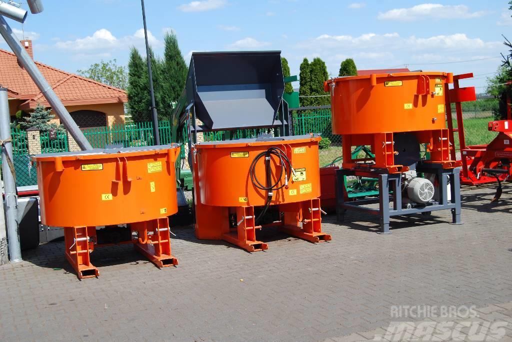 Michalak Mieszalnik pasz 1200l WOM betonirka mixer tractor