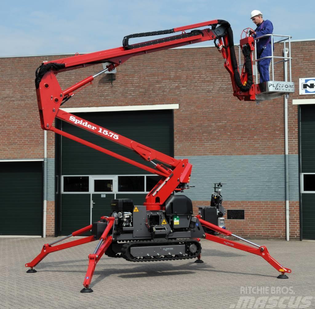 Platform Basket Spider 15.75 Spin-rups hoogwerker   Compact  