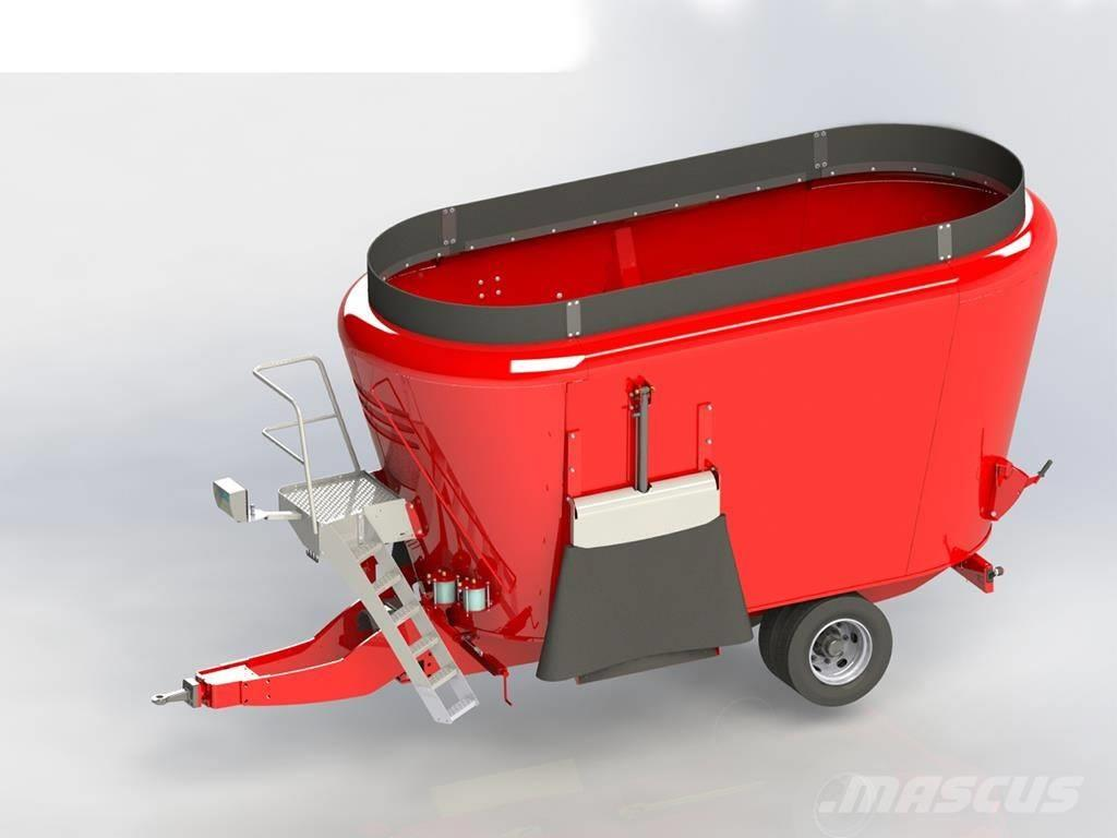 Peecon Topliner Future Mixervagn 197/230