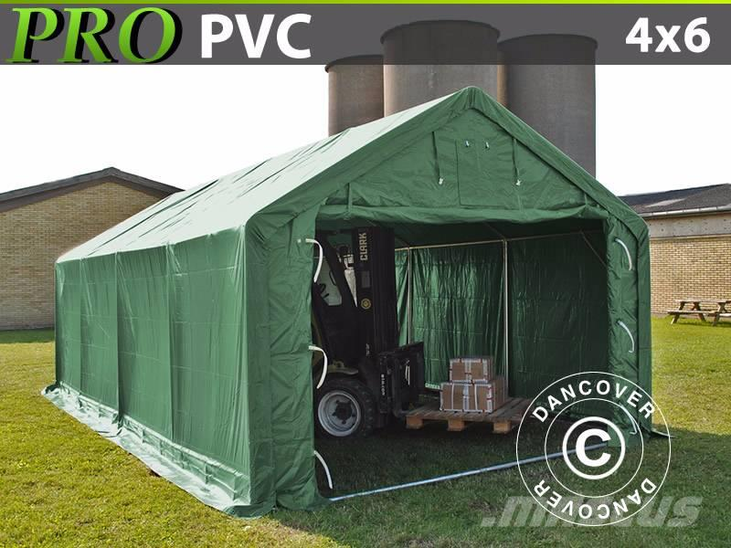 Dancover Storage Shelter  4x6x2x3,1m PVC, Telthal