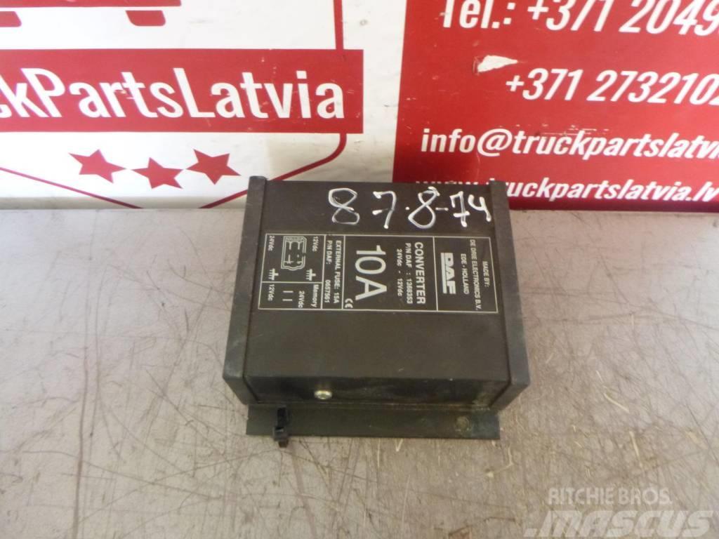 DAF XF105 VOLTAGE CONVERTER 1368353