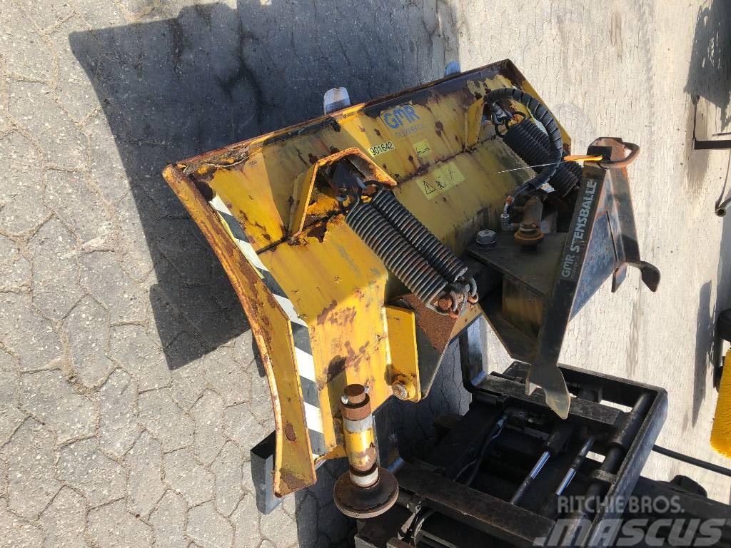 Stensballe 1500mm sneplov FS