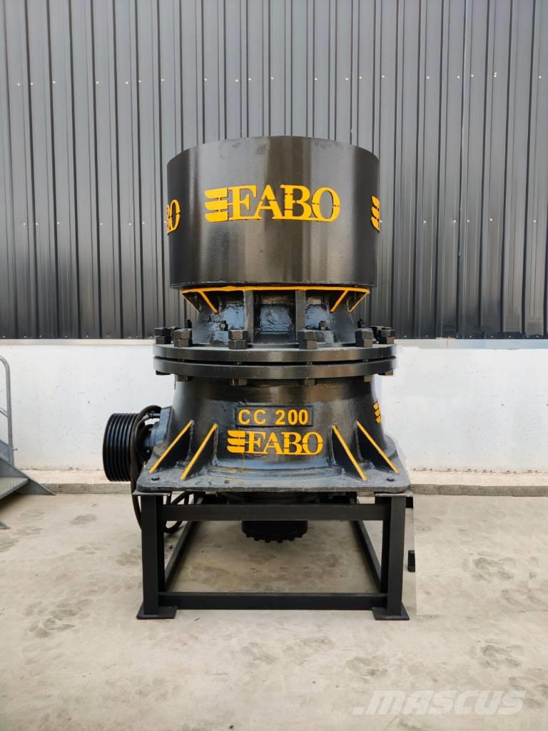 Fabo CC-200 SERIES 150-250 TPH CONE CRUSHER