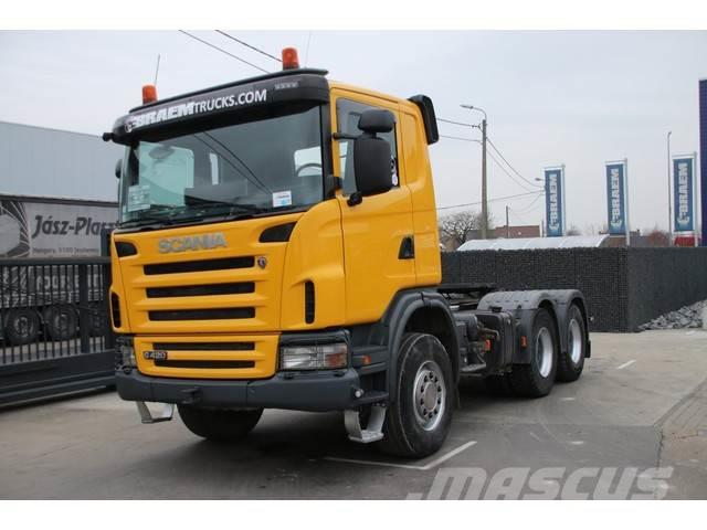 Scania G420 - SPRING - BIG AXLES