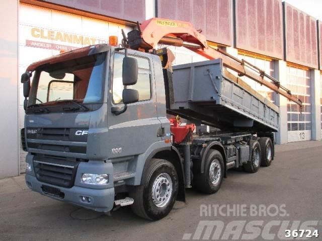 DAF FAD 85 СF 460 8x4 Palfinger 32 ton/meter Kran