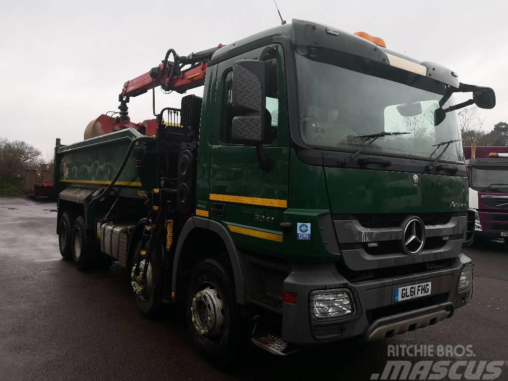 Mercedes benz actros 3241 tipper trucks year of mnftr for Mercedes benz actros for sale