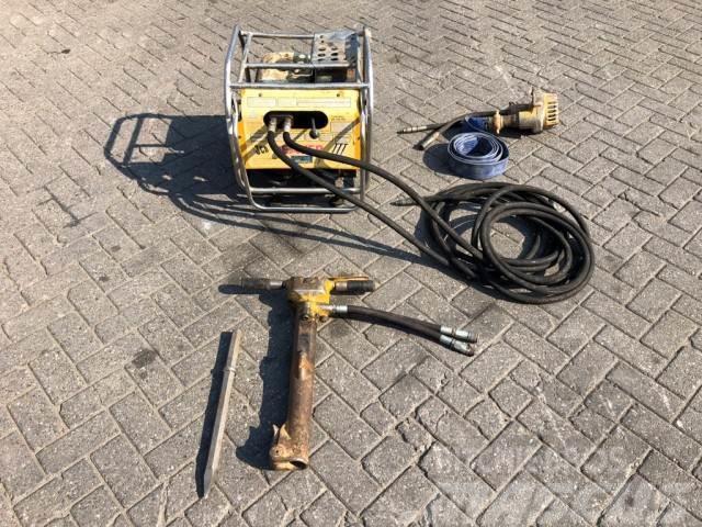 Asca Hydraulic breakers hammer, 1 Cilinder benzine sepa