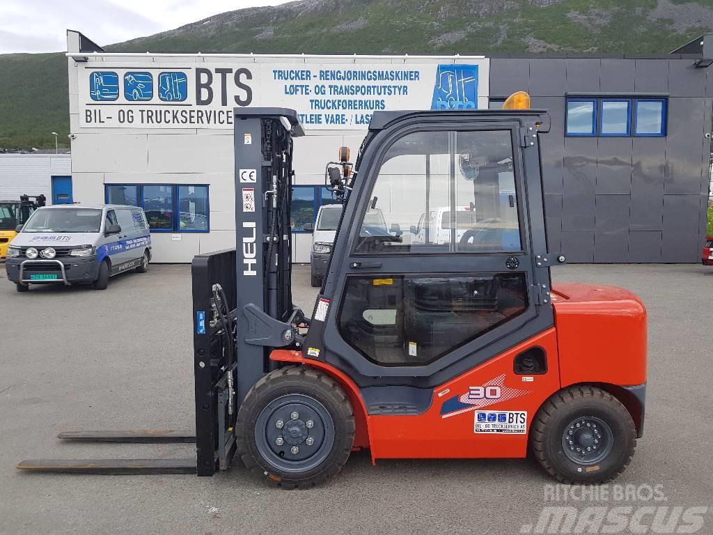 Heli CPCD30 (H3) - 3 tonns dieseltruck (SOLGT)
