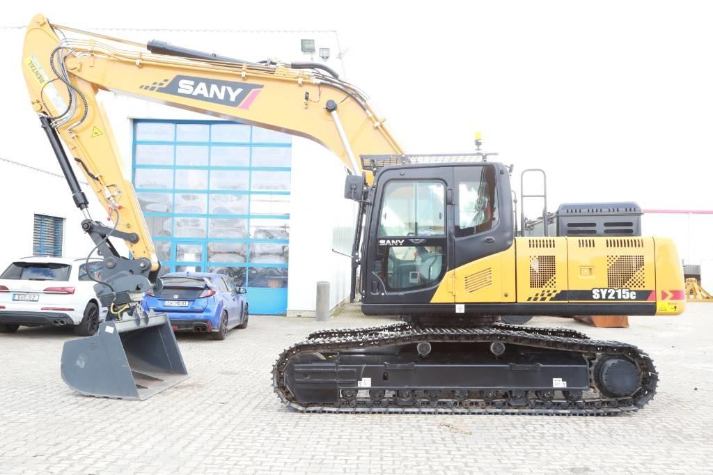 Sany SY215C mit nur 1590 Betriebsstunden und ZSA