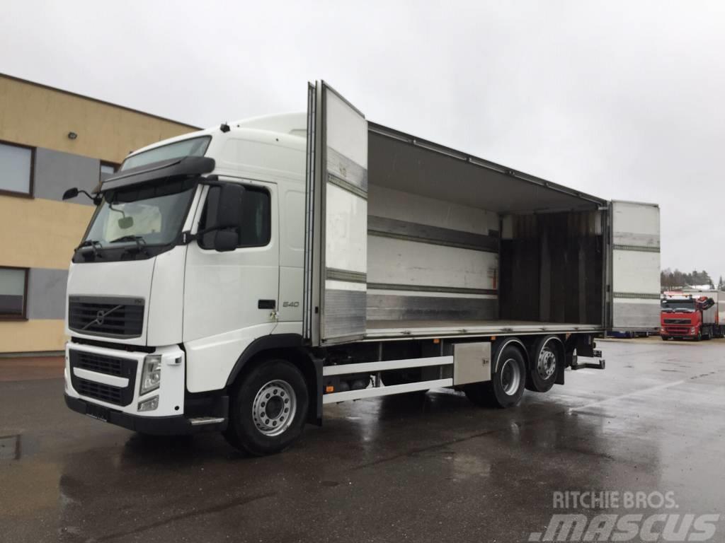 Volvo FH540 6x2+EURO5+RETARDER+SIDE OPENING