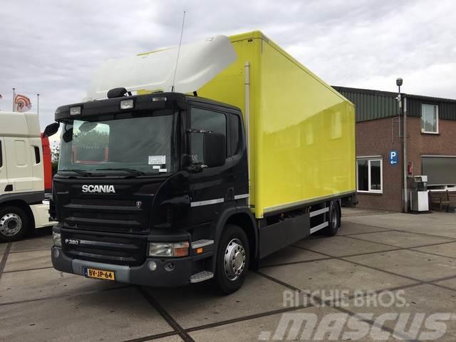 Scania P 380 BLOEMENTRANSPORT / GEISOLEERD / VERWARMBAAR