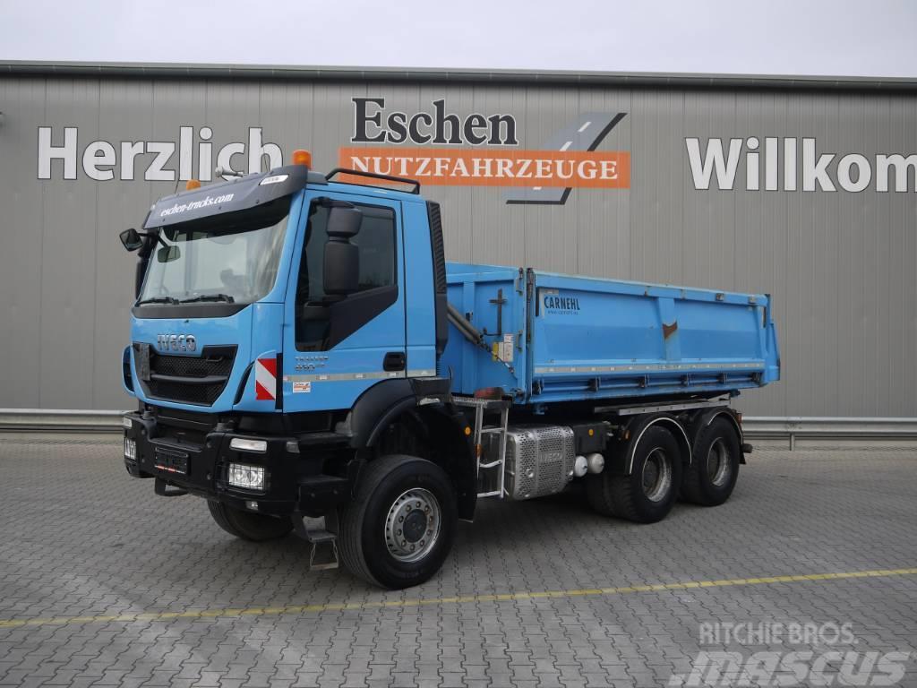 Iveco AD260TW41, 6x6, Trakker, Euro 6, AP Achsen, Blatt