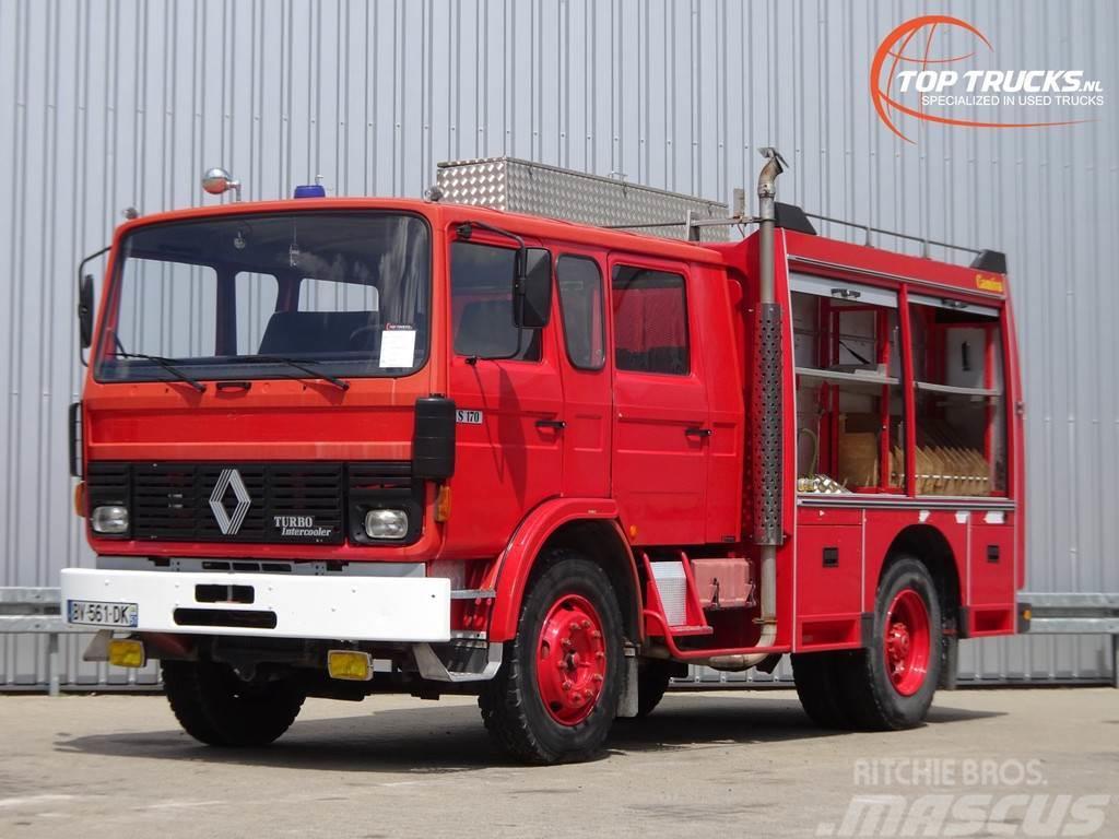 Renault Camiva S170 feuerwehr - fire brigade - Dubble cabi