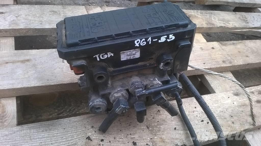 MAN TGA EBS master valve