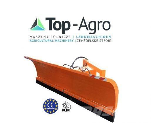 Top-Agro Municipal snow plough 1,8 straight + hydraulic