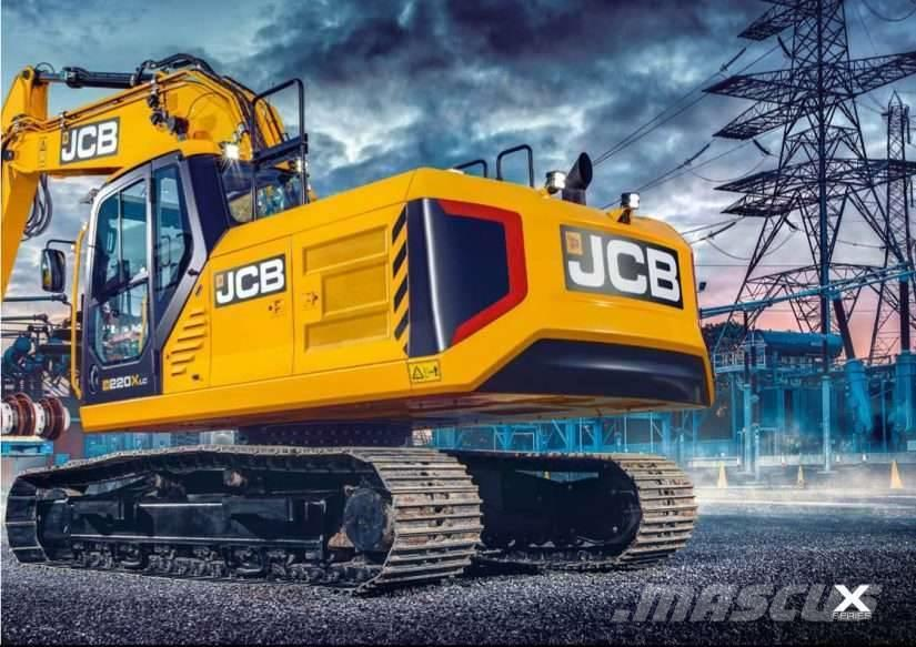 JCB 220X              OBS!               Leveransklar