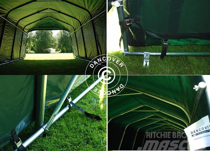 Dancover portable garage 3 6x8 4x2 7m pvc lagertelt for Prix espace vert