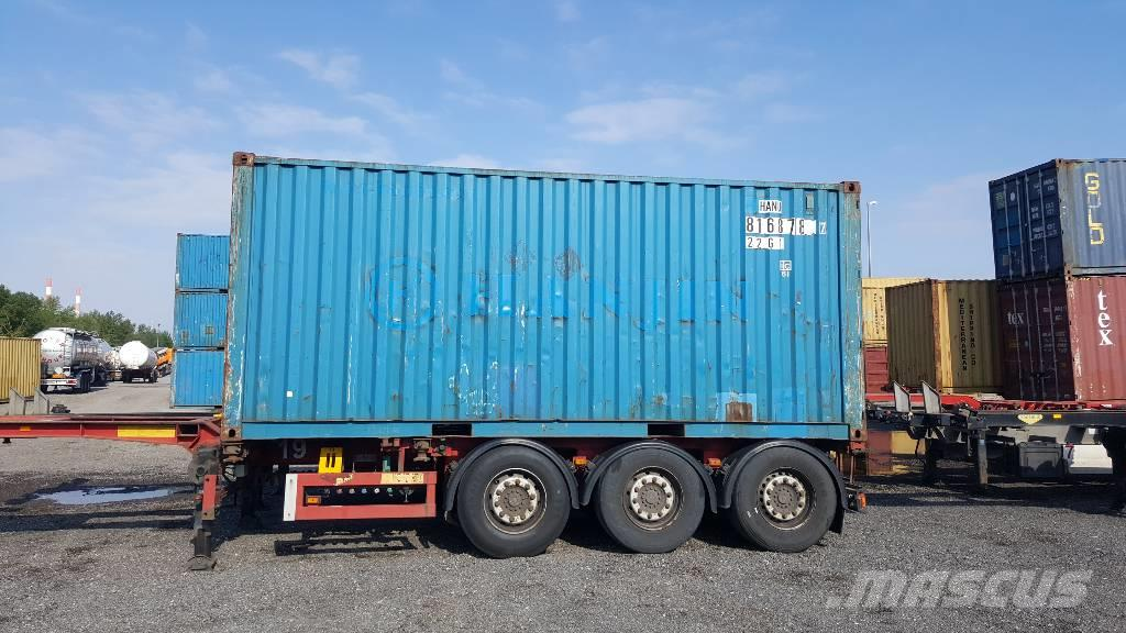 used lagercontainer 10 fuss 45 fuss special containers year 2004 price us 2 089 for sale. Black Bedroom Furniture Sets. Home Design Ideas