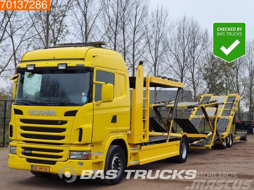 Scania G420 4X2 Euro 5 GS Meppel Aufbau