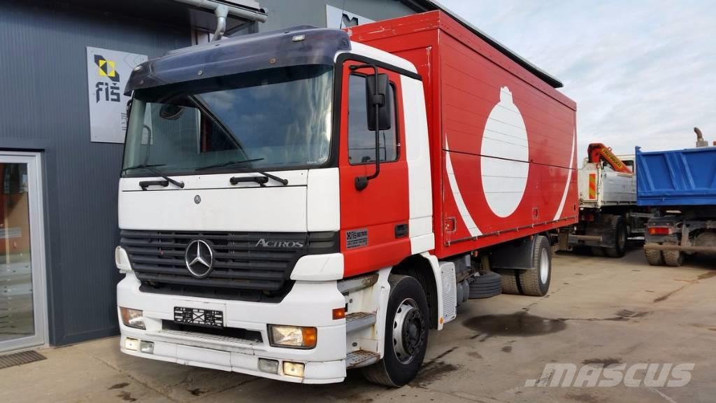 Mercedes-Benz ACTROS 1831 4x2 box - TOP!