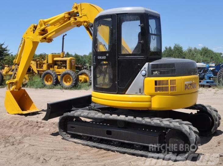 Komatsu PC 75 medium excavator